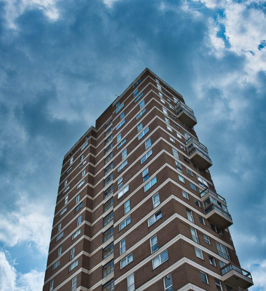 Vivienda sin balcones