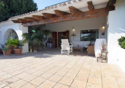 Una casa muy mediterránea